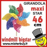 GIRANDOLA MAXI 46 CM PIOGGIA STELLE