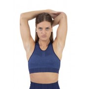 Nike City Ready Seamless - reggiseno sportivo a supporto medio - donna - Blue