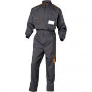 Tuta da lavoro Delta Plus M6COMGOXG - 401012 abbigliamento da lavoro - grigio/arancione - Taglia xl - Conf 1 - M6COMGOXG