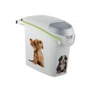 Curver Recipient din plastic pentru hrana animalelor Dog, 6 kg