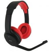 Casti Bluetooth BeeWi BBH105-A0 cu microfon, negru + rosu