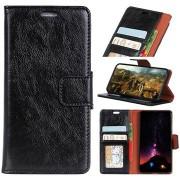 Elegant Series LG Q7 Portemonnee Hoesje met Standaard - Zwart