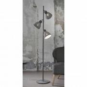 Stehlampe aus Stahl verstellbar