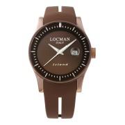 【81%OFF】ラウンドウォッチ デイト表示 ケース:ブラウン ベルト:ブラウン ファッション > 腕時計~~メンズ 腕時計