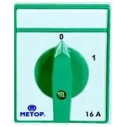 INTRERUPATOR CIRCULAR METOP 3P 16A 0-1