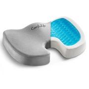 ComfiLife Gel Enhanced Seat Cushion – Non-Slip Orthopedic Memory Foam Coccyx Cushion Tailbone Pain – Office Chair Car Seat Cushion – Back Pain & Sciatica Relief