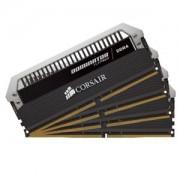 Memorie Corsair Dominator Platinum 64GB (4x16GB) DDR4 2666MHz 1.2V CL15 Dual/Quad Channel Kit, CMD64GX4M4A2666C15