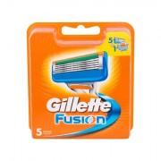Gillette Fusion náhradní břit 5 ks pro muže