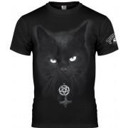Muška hardcore majica - BLACK CAT - AMENOMEN - OMEN075KM