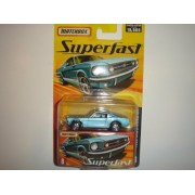 2005 Matchbox Superfast 1965 Ford Mustang GT Ice Blue #8