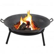 Palenisko ogrodowe 60 cm na ognisko do grilla