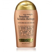 OGX Anti-Breakage Serum Ever Straight Brazilian Keratin Therapy 3.3oz
