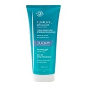Keracnyl gel de limpeza pele oleosa com acne 200ml - Ducray