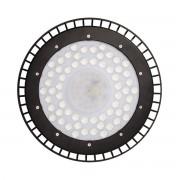Cloche UFO LED Industrielle 200W 120 NOIR IP44 - couleur eclairage : Blanc Froid 6000K - 8000K