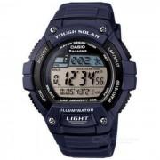 Casio W-S220-2AVDF reloj de alarma digital - azul / negro (sin caja)