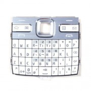 iPartsBuy Mobile Phone Keypads Housing Replacement with Menu Buttons / Press Keys for Nokia E72(White)