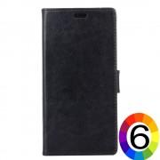 Xiaomi Redmi Note 5 Pro Magnetic Wallet Кожен Калъф и Скрийн Протектор