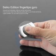 EB Nuevo Diseño De Acero Inoxidable De Cobre Fino Spinner Mano Elegante Fingertip - Color Plata
