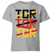 Football Camiseta Fútbol Alemania Tor Tor Tor - Niño - Gris - 5-6 años - Gris