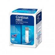 Teste Glicemie Bayer Contur Next Blood Glucose Test Strips 50 buc