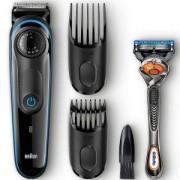Тример за брада Braun BT3040 + Самобръсначка Gillette Fusion ProGlide