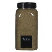 Mica Decorations Decoratie/hobby zand goud 1 kg