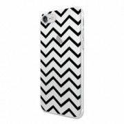Husa Silicon Transparent Slim Zebra Line Apple iPhone 6 PLUS 6S PLUS