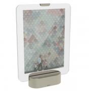 Рамка за снимки UMBRA GLO с LED светлина - 13 х 18 см - цвят сребрист