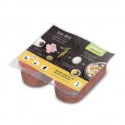 proCani Menu BARF poulet, carottes, riz pour chien - 20 x 200 g (2 x 200 g par barquette)