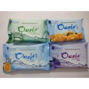 Radhika Osis Facial Cleansing Wipes 150 Count Pack of 6 - Herbal Facial Wipes Skincare Wipes Hand Mouth Wipes