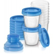 Philips Avent outlet Bewaarbekers voor babyvoeding (180 ml) - 10x