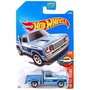 Hot Wheels 2017 HW Hot Trucks 1978 Dodge Li'L Red Express Truck 131/365, Light Blue