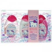 Детски козметичен комплект - Hello Kitty Mini - Душ гел, Шампоан и Лосион за тяло, 3 х 50 мл.