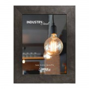 Axolia Cadre Industry Steel 15x20 cm acier
