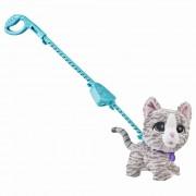 Jucarie interactiva - Furreal Walkalots cu pisica la plimbare
