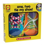 Alex Toys Early Learning 1, 2 Tie My Shoe Little Hands