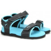 Puma Women Puma Black-Blue Atoll Sports Sandals