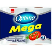 Prosoape hartie Optima Mega 2 role/set Sano