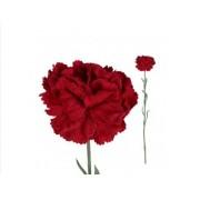 Anjer rood van PTMD kunstbloemen kunstplanten