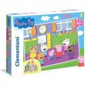 Clementoni puzzle peppa pig floor 40 pezzi 25458