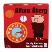 Alfons Åberg Lär dig klockan med Alfons