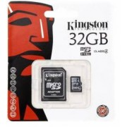 Card de memorie Kingston Micro SD 32GB Clasa 10 + Adaptor