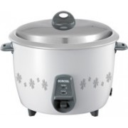 Borosil BRC28MPC22 Electric Rice Cooker with Steaming Feature(2.8 L, White)