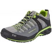 Garmont 9.81 Speed II Hardloopschoenen Heren grijs/groen 2016 Trailrunning schoenen