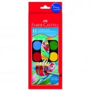 Acuarele Faber Castell 12 culori FC125012