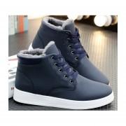 Botas zapatos casual para invierno fashion-cool-Hombre-azul
