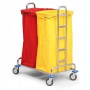 B2B Partner Wózek na bieliznę lub odpady segregowane, 2 worki