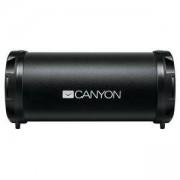 Безжична тонколона Canyon, Bluetooth 4.2, Wireless, Card Reader, 3.5mm AUX, micro-USB, 1500mAh polymer, 3 W, черен, CNE-CBTSP5