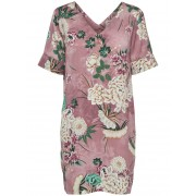 ONLY Printed Short Sleeved Dress Kvinna Rosa