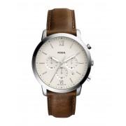 メンズ FOSSIL NEUTRA CHRONO 腕時計 アイボリー